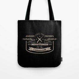 Minutemen of the Commonwealth Tote Bag