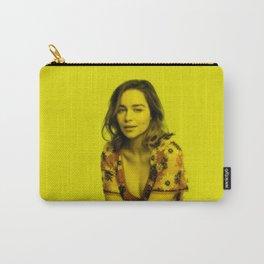 Emilia Clarke - Celebrity (Florescent Color Technique) Carry-All Pouch