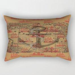 Old Time Nautical  Rectangular Pillow