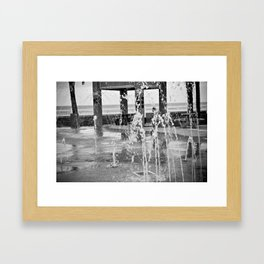 Fountains Framed Art Print