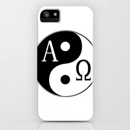 Begining to End iPhone Case