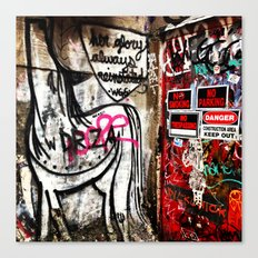 Freeman's Alley Canvas Print