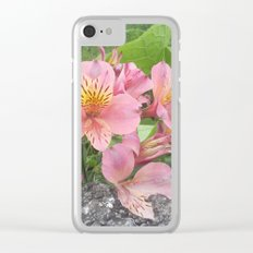 small flowers of tenerife Clear iPhone Case