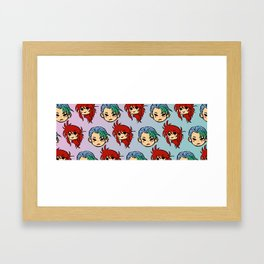 YYH: Ice and Thorns Framed Art Print