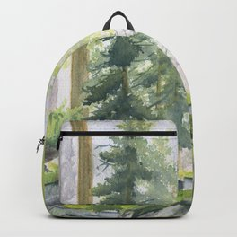 View From Rock Garden Backpack