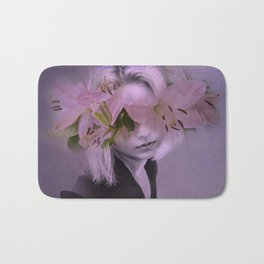 The girl who wanted to be a flower Bath Mat
