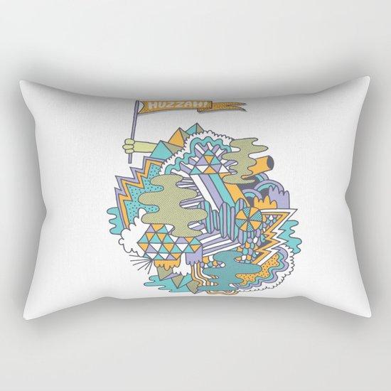 Huzzah! Rectangular Pillow