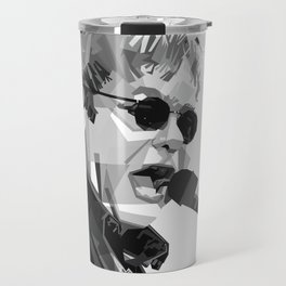 Sir Elton Hercules John Travel Mug