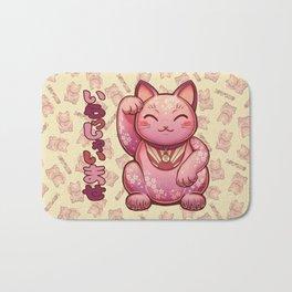 Hanami Maneki Neko: Ai Bath Mat