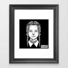 Addams Framed Art Print