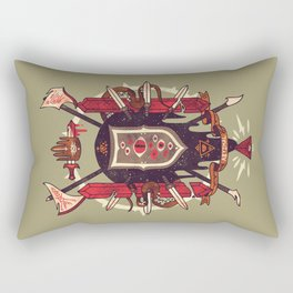 Astral Ancestry Rectangular Pillow