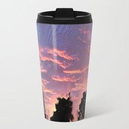 Slashed Sunset Travel Mug
