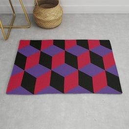 Geometric pattern in 3D Rug