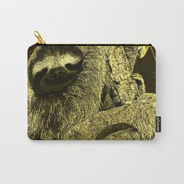 glowing Sloth Carry-All Pouch
