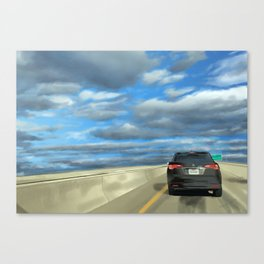 Peace Lane Canvas Print