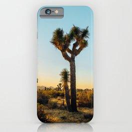 Last Light at Joshua Tree iPhone Case
