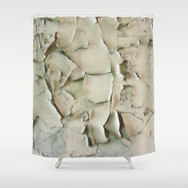 Dying wall Shower Curtain