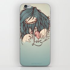 Love is never easy iPhone & iPod Skin
