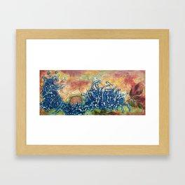 Fate Unfurling Framed Art Print