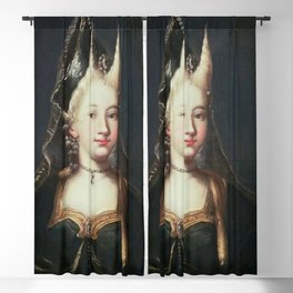 A HORNED WITCH, 18TH CENTURY - ARTIST UNKNOWN Blackout Curtain