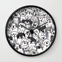 Original Sheepdogs On Watch Wall Clock