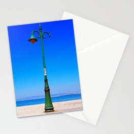Peraia lamppost Stationery Cards