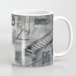 Grey house Coffee Mug