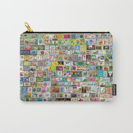 The Soccer Postals Carry-All Pouch