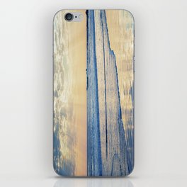 A Message From Above God Rays on Cayucos Beach iPhone Skin