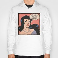comic Hoodies featuring Internet Comic by heymonster