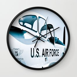 US Air Force Airplane Wall Clock