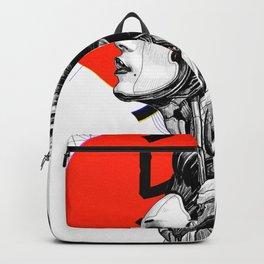 Vaporwave Cyberpunk Japanese Urban Style  Backpack