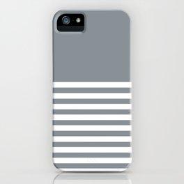 Horizon Grey iPhone Case