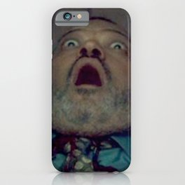 Scared Face Laurence Fishburn iPhone Case