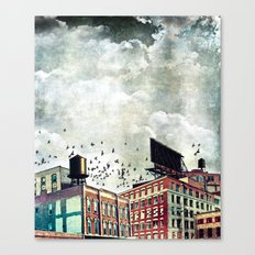The Rooftop #5 Canvas Print