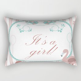 Baby Shower Rectangular Pillow