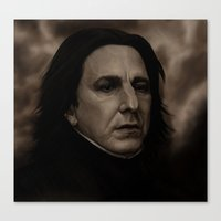 snape Canvas Prints featuring Snape by The Terribilita