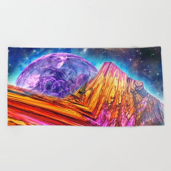 Mystic Mountain Beach Towel