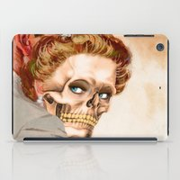 ginger iPad Cases featuring GINGER by Julia Lillard Art