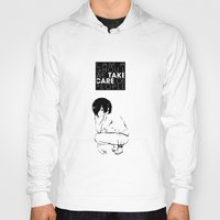 tokyo ghoul Hoodies featuring I am a Ghoul  by Touko Rabbit