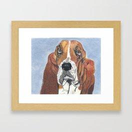 Watson Framed Art Print