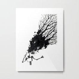 Robotree Metal Print