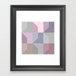 Pale Slates Framed Art Print