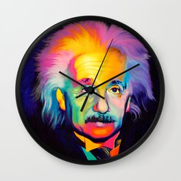 Grey Matter Wall Clock