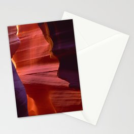 Majestic Slot Canyons Painted By the Divine Stationery Cards