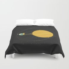 Death by Solar Flare Duvet Cover