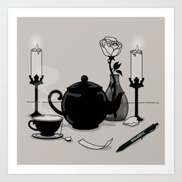 Tea & Intention Art Print