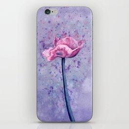Lavender Floral iPhone Skin