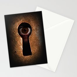 Who is watching you? Stationery Cards