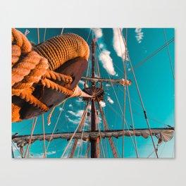 El Galeón Canvas Print